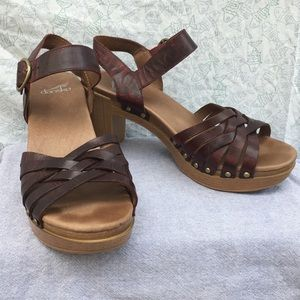Dansko Dawson heeled sandal